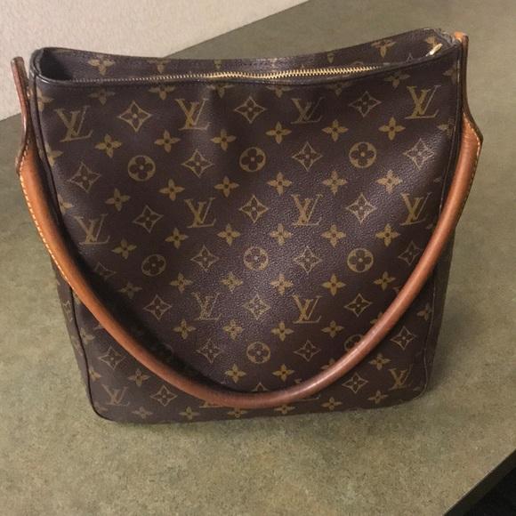 a9288f89c5797 Louis Vuitton Handbags - Louis Vuitton Monogram Looping GM Bag